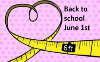 Back to School - June 1